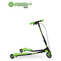 Y Fliker A1 Air Scooter - Black & Green