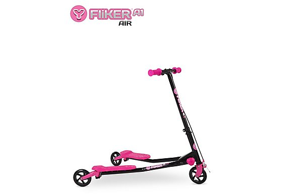 Y Fliker A1 Air Scooter Black/Pink