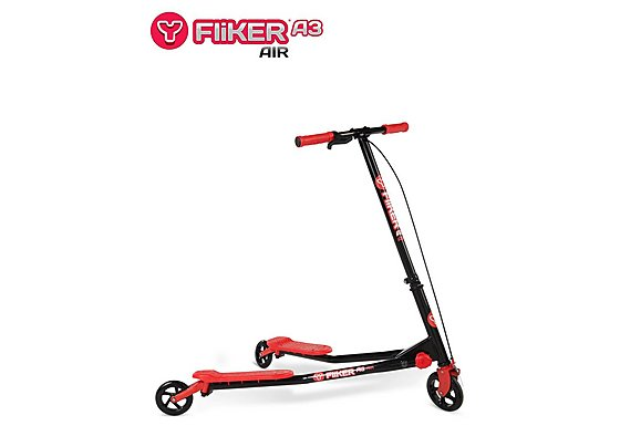 Y Fliker Scooter >> Halfords | Y Fliker A3 Air Scooter Black/Red