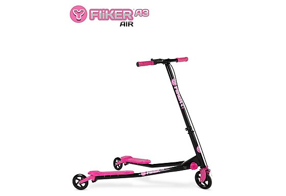 Y Fliker A3 Air Scooter Black/Pink