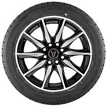"image of Wolfrace Raptor 15"" 6.5J  Alloy Wheel & Tyre"