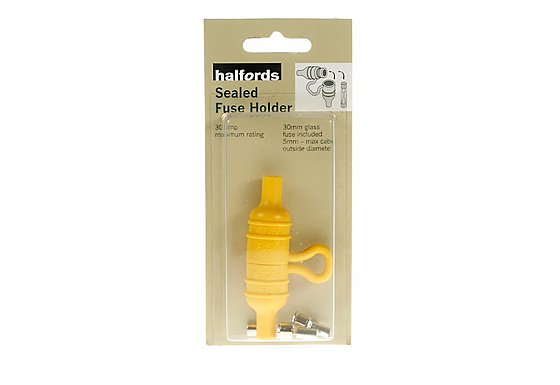 Halfords Sealed Fuse Holder