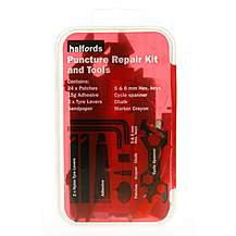 image of Halfords Puncture Repair Kit & Tools
