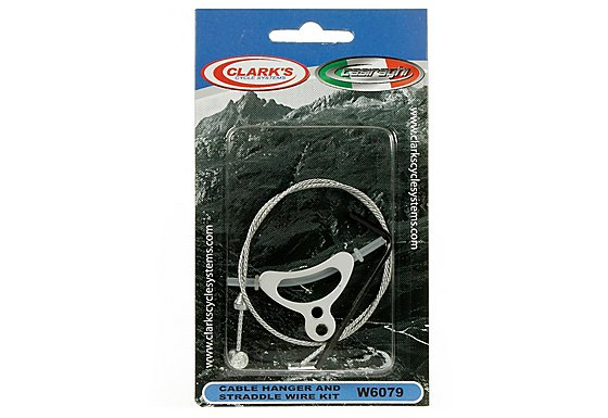 Clarkes Bike Cable Hanger and Straddle Wire Kit