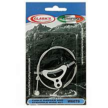 image of Clarkes Bike Cable Hanger and Straddle Wire Kit