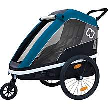 image of Hamax Avenida Twin Child Bike Trailer