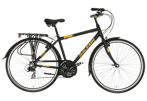 Raleigh Loxley Mens Hybrid Bike