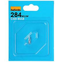 image of Halfords 284 W2.3W Car Bulb x 1