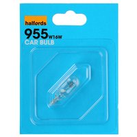 Halfords (HBU955) 16W Car Bulb x 1