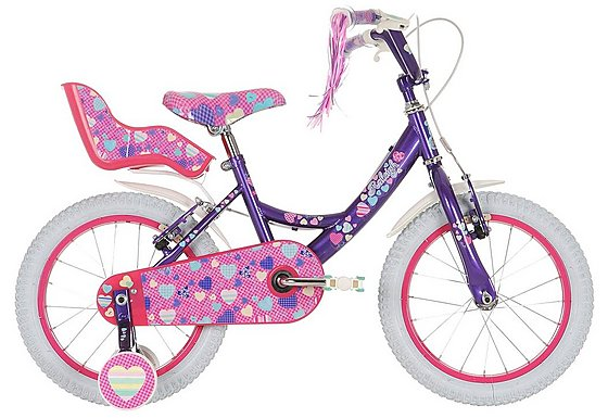 Raleigh Krush Girls Bike 16