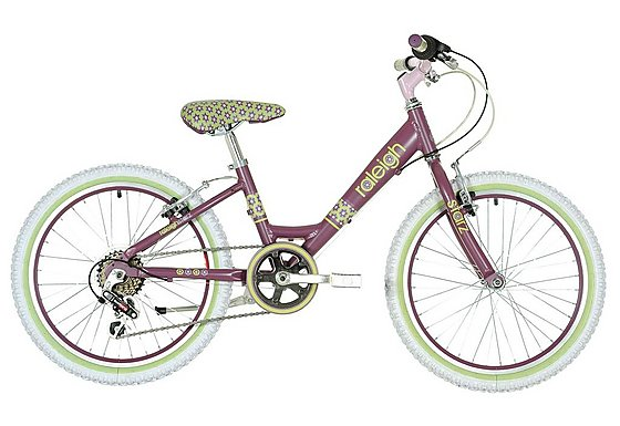 Raleigh Starz Girls Bike 20