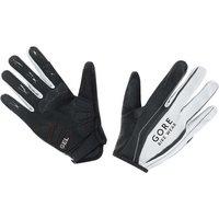 Gore Power Long Gloves - Black/White, 8