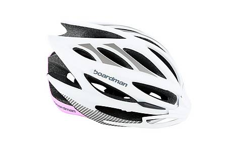 image of Boardman Team Road Bike Helmet 2014