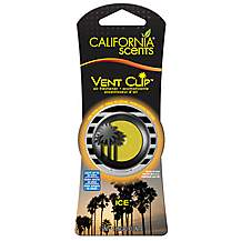image of California Scents Clip-On Air Freshener - Ice