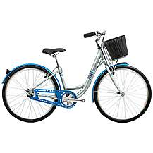 image of Raleigh Caprice Silver Womens Hybrid Bike