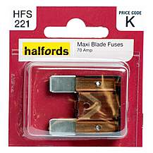image of Halfords Maxiblade Fuse 70 Amp