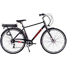 image of Raleigh Array Crossbar Acera Electric Hybrid Bike - Black -19""