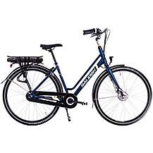 image of Raleigh Array Lowstep Nexus Hub Electric Hybrid Bike - Navy - 18""