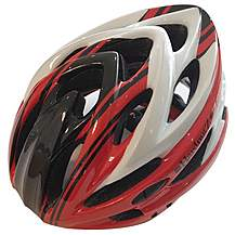 image of HardnutZ Stealth Hi-Vis Cycle Helmet
