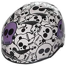 image of HardnutZ Street Cycle Helmet - Purple Skulls