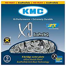 image of KMC X9 Ept 116L Chain