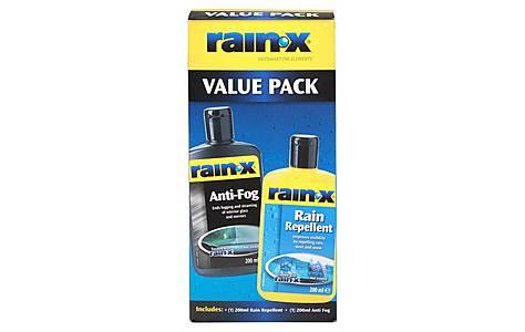 image of Rain-X Rain Repellent AntiFog Value Pack