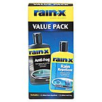 image of Rain-X Rain Repellent AntiFog Value Pack