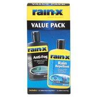 Rain-X Rain Repellent AntiFog Value Pack