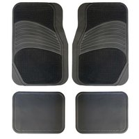 Halfords Carpet/Rubber Car Mats - Grey
