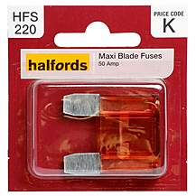 image of Halfords Maxiblade Fuse 50 Amp