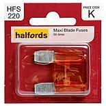 Halfords Maxiblade Fuse 50 Amp