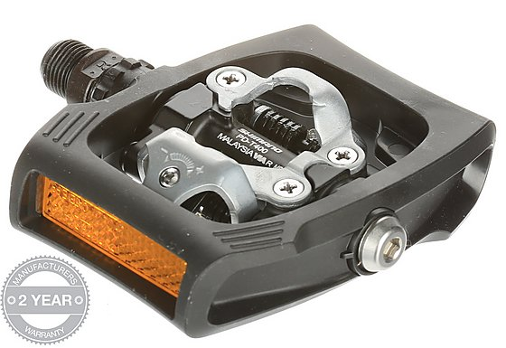 Shimano Click'R T400 Pedals - Black
