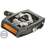image of Shimano ClickR T400 Pedals - Black