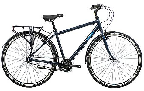 image of Raleigh Pioneer 3 Mens Hybrid Bike