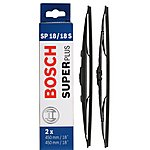 image of Bosch SP18/18S Wiper Blades - Front Pair