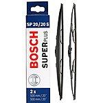 image of Bosch Wiper Blade Set 20/20S - Standard