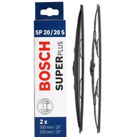 Bosch SP20/20S Wiper Blades - Front Pair