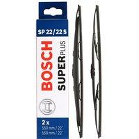 Bosch SP22/22S Wiper Blades - Front Pair