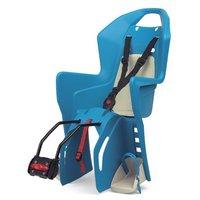 Polisport Koolah Rear Child Bike Seat - Blue/Cream
