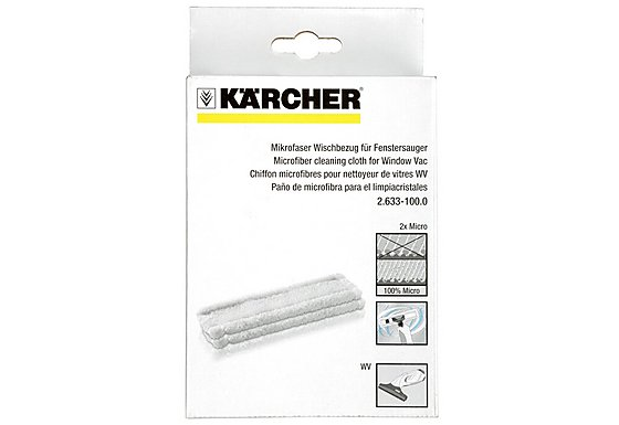 Karcher Window Vac Replacement Microfibre Head