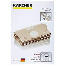 image of Karcher Vacuum Bags - 5 Pack