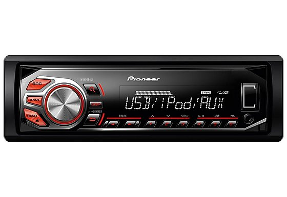 Pioneer MVH-160Ui RDS Tuner with iPod/iPhone Direct Control