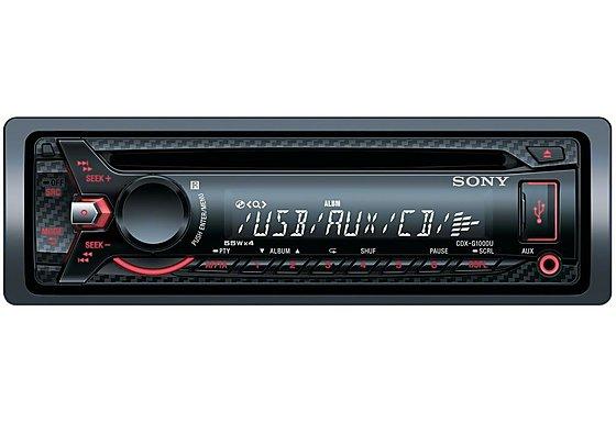 Sony CDX-G1000U Car Stereo