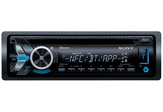 Sony MEX-N4000BT Car Radio with Bluetooth and iPod/iPhone Control
