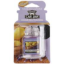 image of Yankee Candle Car Jar Ultimate Lemon Lavender
