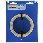 image of Halfords Reflective Tape Silver 25mm x 5M (HFX670)