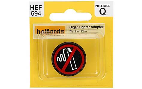 image of Halfords Cigarette Lighter Adaptor Blanking Plug (HEF594)