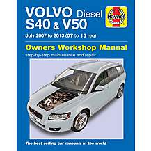 image of Haynes Volvo S40 & V50 Diesel (07-13) Manual