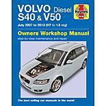 Haynes Volvo S40 & V50 Diesel (07-13) Manual