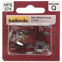 image of Halfords Fuse Mini Blade 7.5 Amp (HFS274)
